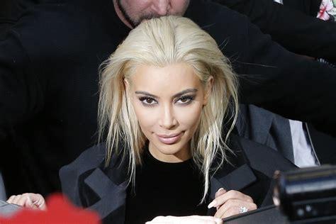 kimkardashian platnium blonde hair formula kim kardashian platinum blonde hair business insider
