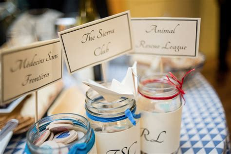 Wedding Favors Donation To Charity by And Give Freely With These Charitable Wedding