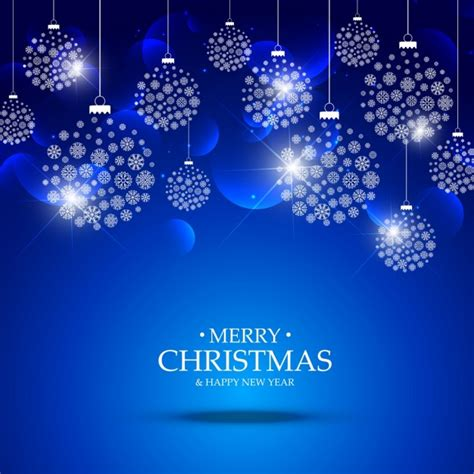 blue christmas service clip art blue background of made of snowflakes vector free