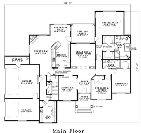 his and bathroom floor plans traditional house plan 151628 ultimate home plans