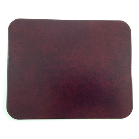 Desk Pad by Burgundy Glazed Leather Desk Pad Glossy Finished Genuine