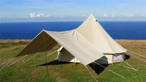 large awnings large awning cool canvas tent company