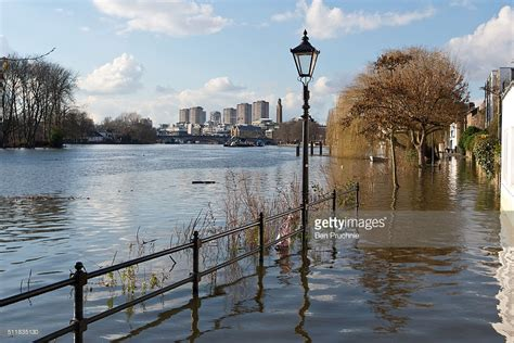 thames river today the thames floods in central london getty images