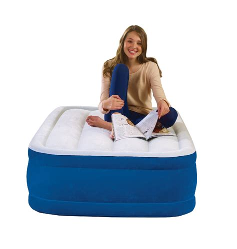 simmons plush aire  raised air bed twin size shop