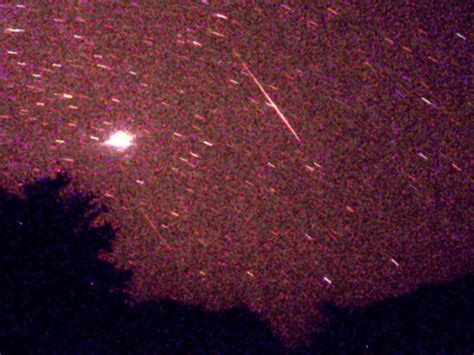 Meteor Shower Atlanta by 11alive What Was That Light Streaking Across The