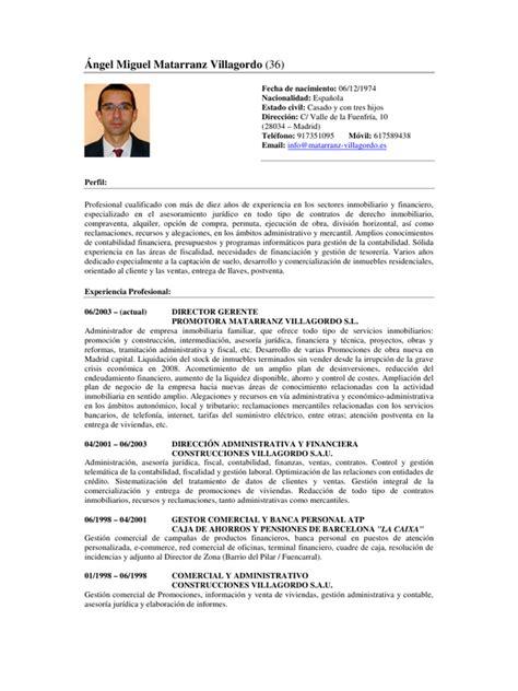 Modelo Curriculum Vitae Descargar Pdf Curriculum Vitae Pdf Formato Para Llenar