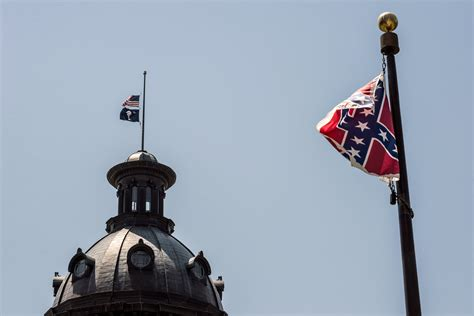 Search In Carolina Charleston Shooting Why Confederate Flag Flies In South Carolina Time