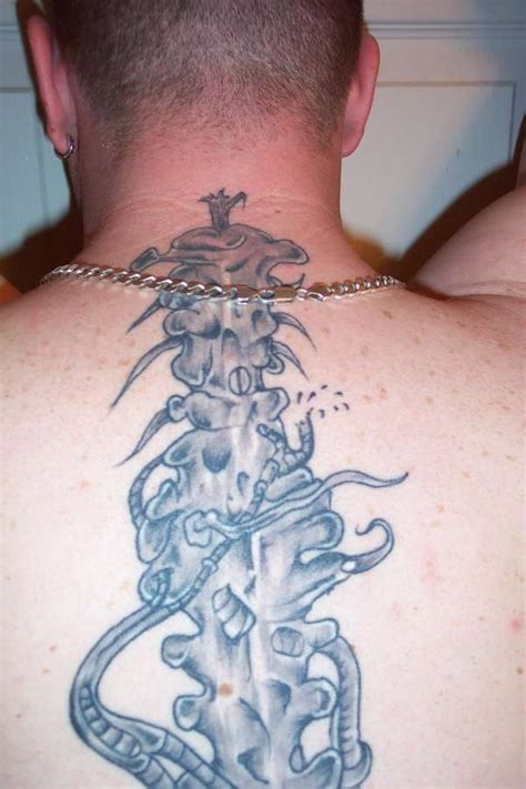 spinal cord tattoo spinal cord designs creativefan