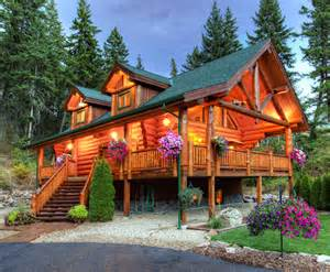 Small A Frame Cabin Classic Full Log Homes Log Cabin Builders Custom