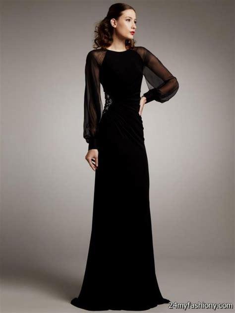 Sleeve Floor Length Black Dress by Sleeve Black Lace Dress Floor Length 2016 2017 B2b
