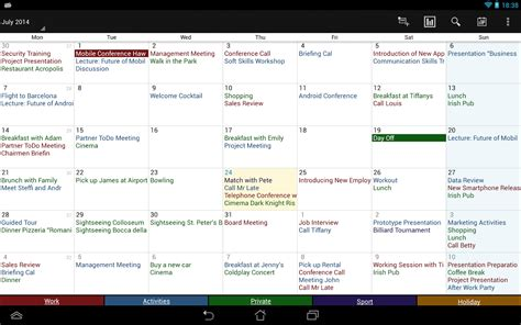 Business Calendar App Business Calendar Pro Android Apps On Play
