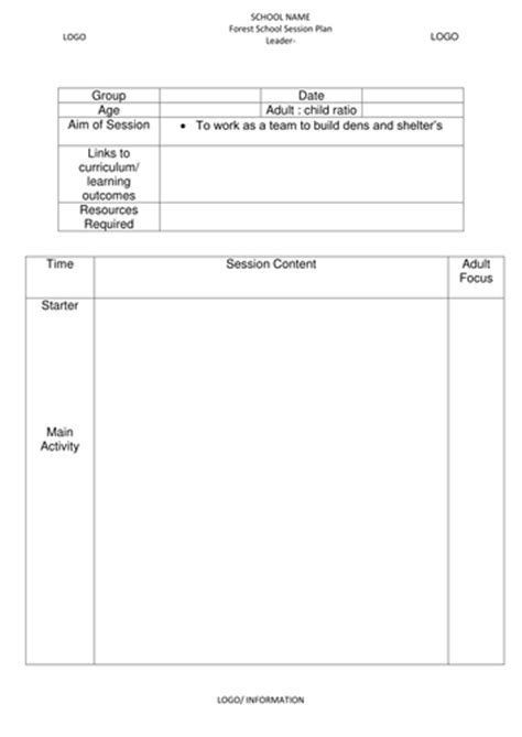 forestry risk assessment template forest school risk assessment planning and evaluation