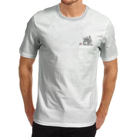 Tshirt Acerbis 2 One Clothing s cat in a pocket graphic t shirt ebay