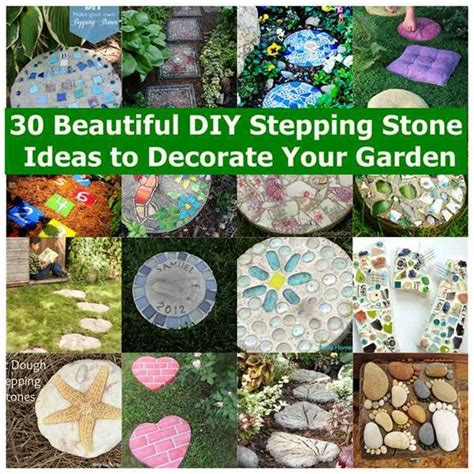 30 Beautiful Diy Stepping Stone Ideas To Decorate Garden How To Decorate Your Garden