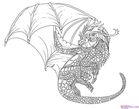 Cool Drawing That Are Easy by How To Draw A Cool Step By Step Dragons Draw A