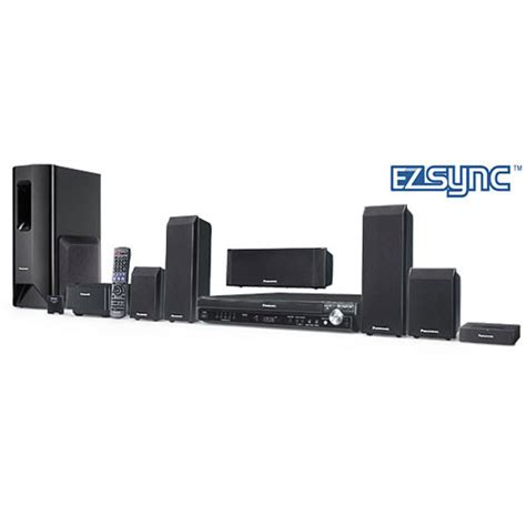 panasonic sc pt750 home theater system sc pt750 b h photo