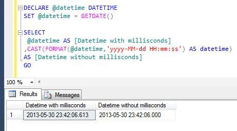 mysql date format without seconds sql server multiple ways to remove milliseconds from