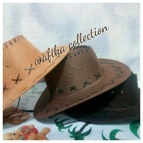 Engsel Koboi 3 Hitam jual topi koboy cowboy koboi anak quot marboro quot wafika