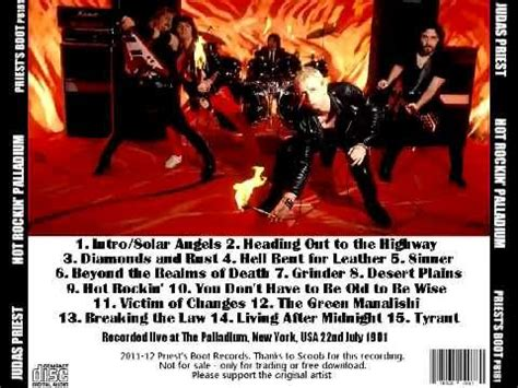 judaspriest news judas priest live in new york city 1981 07 22 youtube