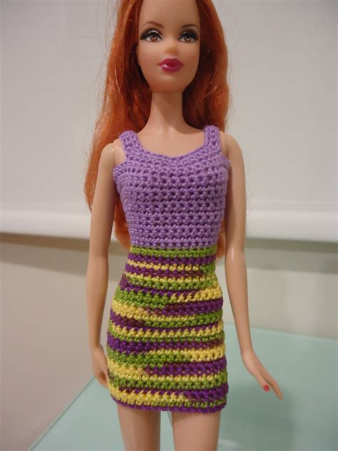 pattern crochet clothes fashion doll crochet clothes