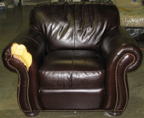 how to repair recliner ram leather furniture service manassas va 20109