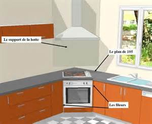 meuble d angle pour four encastrable table de cuisine
