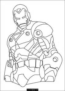 Iron Man Superhero Coloring Pages Printable sketch template