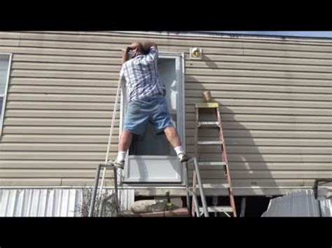 how to repair or replace a mobile home bathtub faucet manufactured mobile home door replacement and floor sill