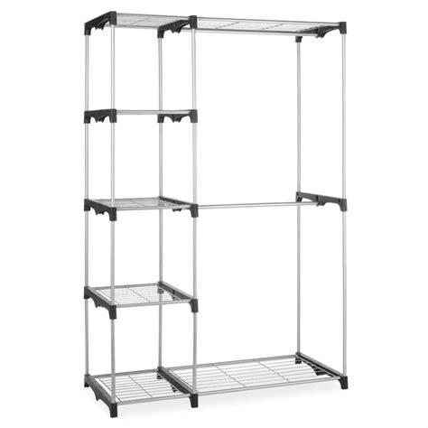 freestanding closet organizer freestanding closet organizer garment rack storage unit