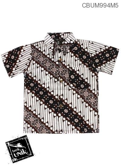 Parang Klasik baju batik anak kemeja motif parang klasik kemeja murah batikunik
