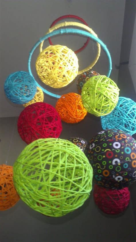 multi color yarn multi color yarn fabric baby mobile room