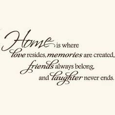 home is where the is home quotes on