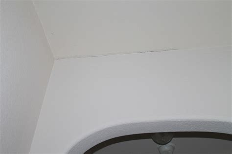 Ceiling And Wall Cracks by Cracks In Ceiling Wall In The House Rock