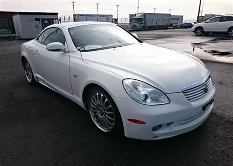 toyota soarer convertible sold and exported 2001 toyota soarer