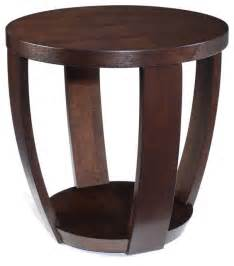 Accent Side Table Magnussen T1579 Sotto Wood End Table Modern Side Tables And End Tables By Hayneedle