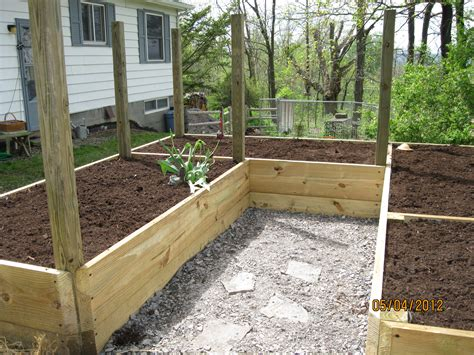 raised beds vegetable garden gardening alaskan style