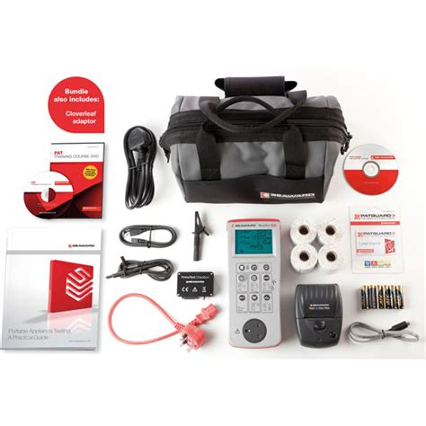 Seaward Primetest 250 Pat Tester Free Accessory Bundle seaward 403a957 primetest 250 pro bundle with software