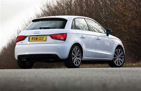 Audi A1 White 5 Door by Audi A1 Sportback 2012 Car Review Honest