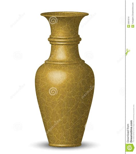Golden Vase by Golden Vase Stock Image Image 26819741