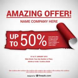 Offer To Sell Template by Sale Vectors Photos And Psd Files Free
