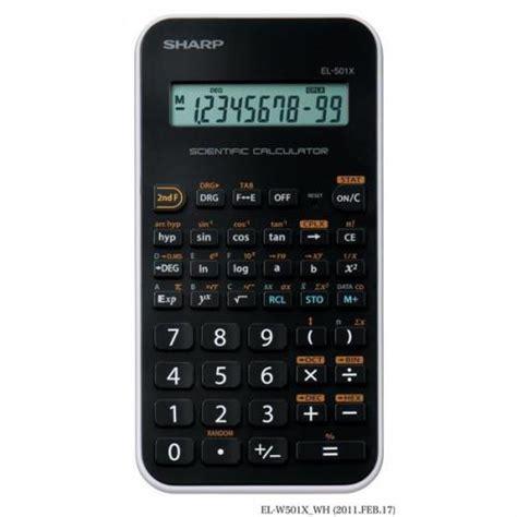 Sharp Calculator El 501x Scientific Kalkulator Kuliah El 501 X sharp el 501x scientific calculator single line lcd display el 501x