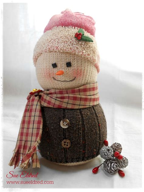 sock snowman updated a new look for an snowman sue s creative
