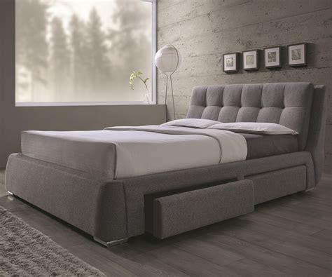 coaster 300523q fenbrook grey fabric upholstered storage