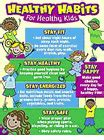 Healthy Habits For Healthy Chart Tcr7736 Created Resources Science Charts 20 Science Workbooks Science Kits Lab Equipment Classroom Supplies