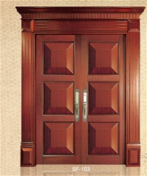 wooden swing doors china double swing wooden door sf103 china wooden door