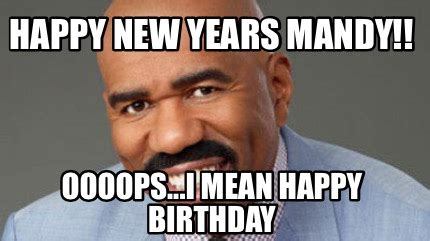 happy new year meaning in meme creator happy new years mandy oooops i