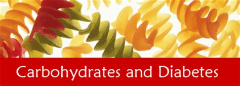carbohydrates and diabetes carbohydrates and diabetes