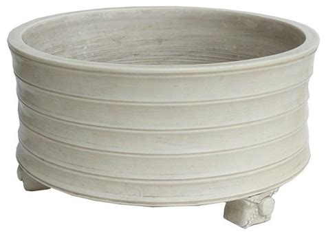 White Planters Pots by White Porcelain Planter Pot Rustic