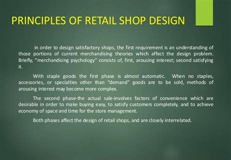 retail layout principles retail design project by neha vyas b sc interior design