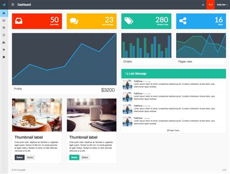 bootstrap card template 30 best bootstrap templates for free templateflip